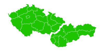 Mapa pokrytí montéry DuoTech