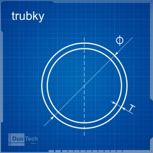 Blueprint trubky